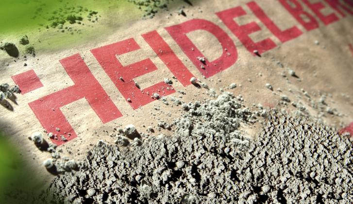 HeidelbergCement logo.