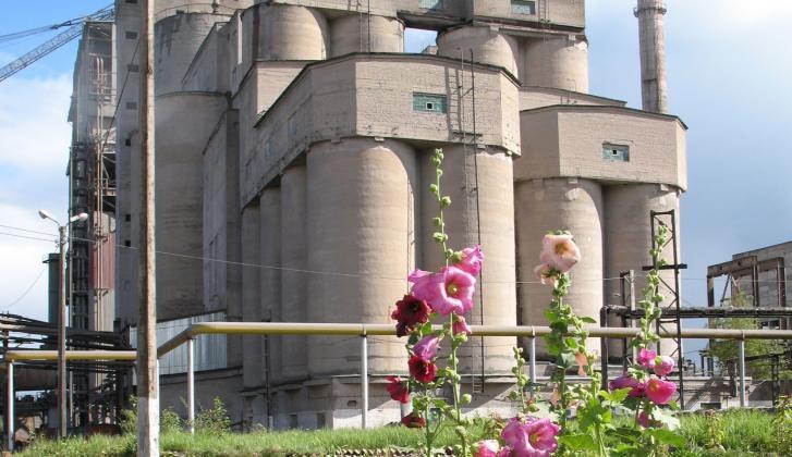 Cesla cement plant.