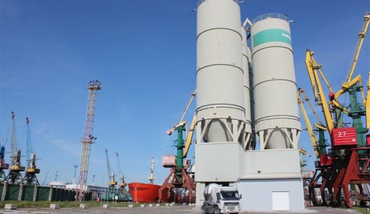 Silos of KaliningradCement.