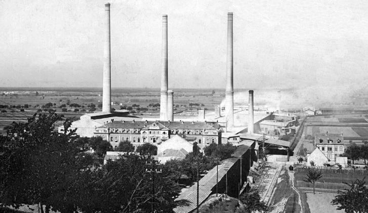 Cement Plant in Leimen,1896.