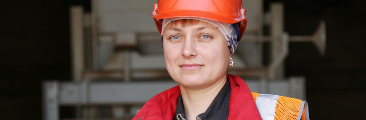 Employee of HeidelbergCement Russia.