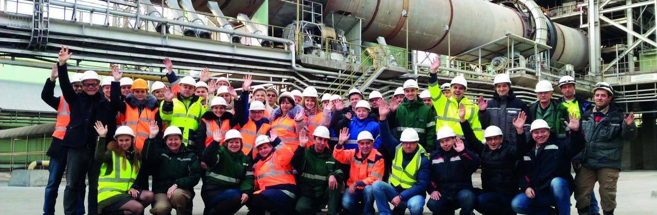 Работники завода в Новогуроском Home 10 Million