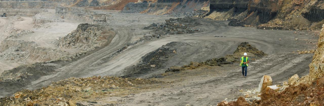 Gurovsky quarry.