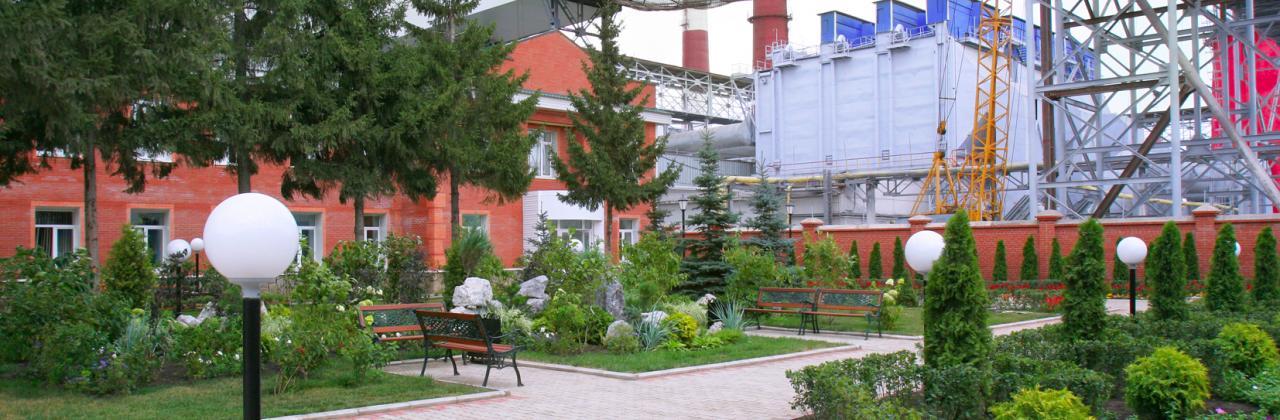 Cement plant in Sterlitamak.